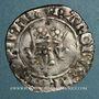 Monnaies Charles VI (1380-1422). Monnayage du duc de Bourgogne (1417-1423). Florette, 4 émission . Mâcon