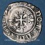 Monnaies Charles VI (1380-1422). Monnayage du duc de Bourgogne (1417-1423). Florette. Chalon