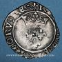 Monnaies Charles VI (1380-1422). Monnayage du duc de Bourgogne (1417-1423). Florette. Châlons sur Saône