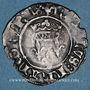 Monnaies Charles VI (1380-1422). Monnayage du duc de Bourgogne (1417-1423). Florette. Mâcon (annelet 12e)