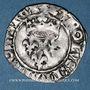 Monnaies Charles VI (1380-1422). Monnayage du duc de Bourgogne (1417-1423). Florette. Troyes (annelet 14e)