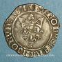 Monnaies Charles VI (1380-1422). Monnayage du duc de Bourgogne (1417-23). Florette. Dijon, point 1er
