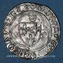 Monnaies Charles VII (1380-1422). Monnayage du duc de Bourgogne (1417-1423). Blanc à la couronne. Inédit !