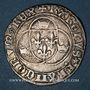 Monnaies Charles VII (1422-1461). Blanc à la couronne. Poitiers (point 8e)