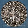 Monnaies Charles VII (1422-1461). Blanc à la couronne. Romans (point 2e)