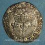 Monnaies Charles VII (1422-1461). Blanc aux lis accostés. La Rochelle, point 9e