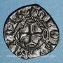 Monnaies Charles VII (1422-1461). Obole tournois. La Rochelle (point 9e et 11e) (?). Type inédit !