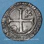 Monnaies Charles VII (1422-1461). Petit blanc aux lis accostés