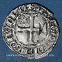 Monnaies Charles VII (1422-1461). Petit blanc aux trois lis. Mirabel (point 18e)