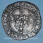 Monnaies Charles VII (1436-1461). Monnayage du duc de Bourgogne (1417-1423). Blanc à la couronne