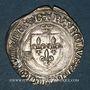 Monnaies Charles VIII (1483-1498). Blanc à la couronne, 24 avril 1488. Bourges (lettre B finale)