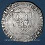Monnaies Charles VIII (1483-1498). Blanc à la couronne, 24 avril 1488. Paris