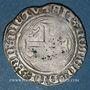 Monnaies Charles VIII (1483-1498). Blanc à la couronne, 24 avril 1488. Tournai