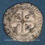 Monnaies Charles VIII (1483-1498). Blanc à la couronne de Bretagne. Nantes