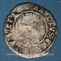 Monnaies Charles VIII (1483-1498). Hardi, 3e émission. Bordeaux. Inédit !