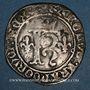 Monnaies Charles VIII (1483-1498). Karolus. Angers (point 7e)