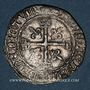 Monnaies Charles VIII (1483-1498). Karolus. Poitiers (point 8e)