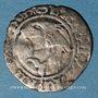 Monnaies Charles VIII (1483-1498). Liard, 2e émission. Rouen (point 15e)