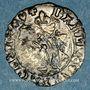Monnaies Charles VIII (1483-1498). Liard du Dauphine. Crémieu, point 1er