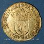 Monnaies Charles IX (1560-1574). Ecu d'or au soleil 1571 A