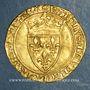 Monnaies Charles VI (1380-1422). Ecu d'or à la couronne. 2e émission