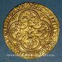 Monnaies Charles VI (1380-1422). Ecu d'or à la couronne. 4e émission. Point 18e, Paris
