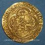Monnaies Charles VI le Bien-Aimé (1380-1422). Ecu d'or à la couronne. 4e émission. Point 17e. Saint-Quentin