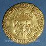 Monnaies Charles VIII (1483-1498). Ecu d'or au soleil. 1ère émission (11 septembre 1483). Bourges (lettre B)