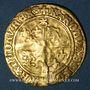 Monnaies Charles VIII (1483-1498). Ecu d'or au soleil du Dauphiné, 1er type, Grenoble