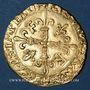 Monnaies François I (1515-1547). Ecu d'or au soleil, 5e type, 3e émission, Villefranche-de-Rouergue