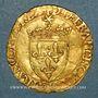 Monnaies François I (1515-1547). Ecu d'or au soleil, 5e type. Bayonne