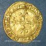 Monnaies François I (1515-1547). Ecu d'or au soleil du Dauphiné. 1er type. Crémieu (point 1er)
