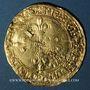 Monnaies François I (1515-1547). Ecu d'or au soleil du Dauphiné, 2e type. Grenoble
