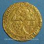 Monnaies Henri VI (1422-1453). Salut d'or. 2e émission. Rouen