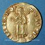 Monnaies Jean II le Bon (1350-1364). Monnayage particulier pour le Languedoc. Florin d'or
