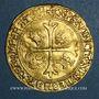 Monnaies Louis XII (1498-1514). Ecu d'or au porc-épic. Bordeaux (nef)