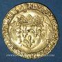 Monnaies Louis XII (1498-1514). Ecu d'or au porc-épic. Lyon