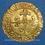 Monnaies Louis XII (1498-1514). Ecu d'or au soleil. Bayonne, ancre
