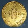 Monnaies Louis XIII (1610-1643). Ecu d'or au soleil, 1er type, 1637 D. Lyon
