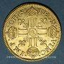 Monnaies Louis XIII (1610-1643). Louis d'or 1642A. Type avec mèche mi-longue sans baie