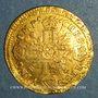 Monnaies Louis XIV (1643-1715). 1/2 louis d'or aux 8 L et aux insignes 1701 N. Montpellier. Réformation