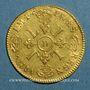 Monnaies Louis XIV (1643-1715). Louis d'or aux 4 L 169(?) D. Lyon. Réformation