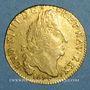 Monnaies Louis XIV (1643-1715). Louis d'or aux 4L 1694 AA. Metz. Réformation