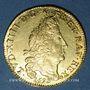 Monnaies Louis XIV (1643-1715). Louis d'or aux 4L 1695 AA. Metz. Réformation