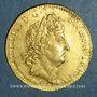 Monnaies Louis XIV (1643-1715). Louis d'or aux insignes A (date illisible). Réformation