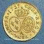 Monnaies Louis XV (1715-1774). Louis aux lunettes 1727A