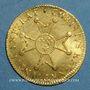 Monnaies Louis XV (1715-1774). Louis d'or à la croix du Saint Esprit 1718 &. Aix