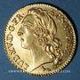 Monnaies Louis XV (1715-1774). Louis d'or au bandeau 1748A