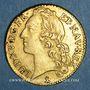 Monnaies Louis XV (1715-1774). Louis d'or au bandeau 1764 N. Montpellier