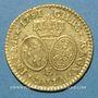 Monnaies Louis XV (1715-1774). Louis d'or aux lunettes 1731 E. Tours